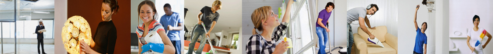 House cleaning crews